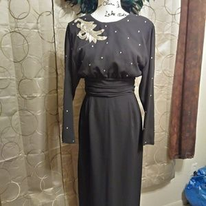 1950s Vintage Evening Gown